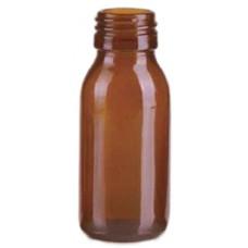 60 мл Флакон для сиропа коричневого стекла горло РР28S